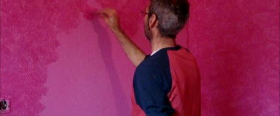 Tierras florentinas rosa chicle sobre fondo rosa