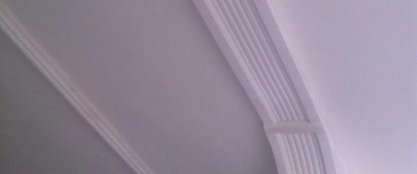 Moldura de escayola decorativa