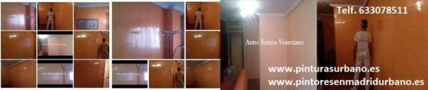 Pintores en Coslada – Aplicar Estuco Mitiko con Cera – Parrilla