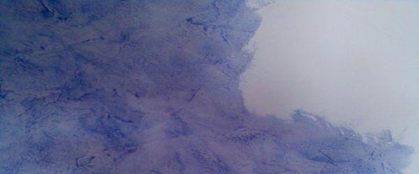 Pintura Efecto Rustico Color Azul