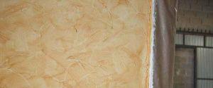 Pintura Efecto Rustico Color Marron