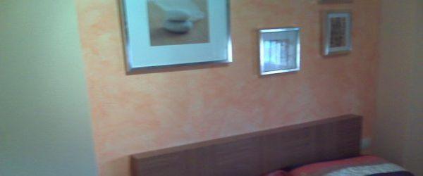 Pintura Efecto Rustico Color Naranja