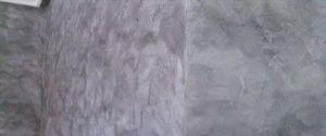 Pintura Efecto Rustico Color Negro y Gris Oscuro