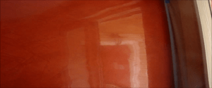 Estuco Color Naranja con Cera 9