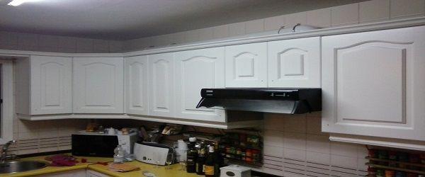 Lacado de Cocina en Blanco