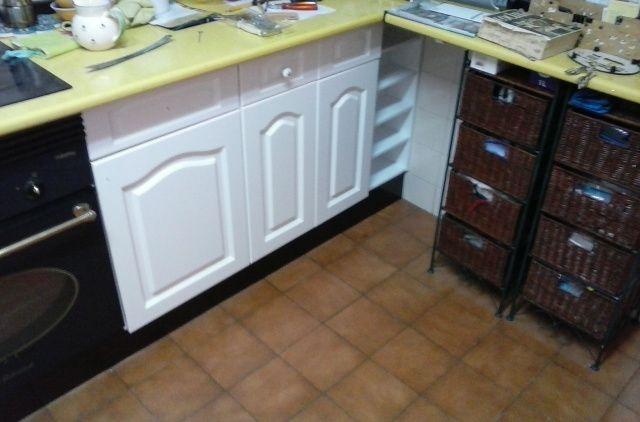 Pintar muebles de cocina lacados cheap cool como pintar - Lacar muebles a pistola ...