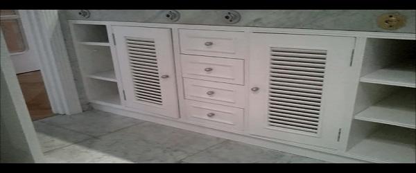Lacado de muebles en Blanco