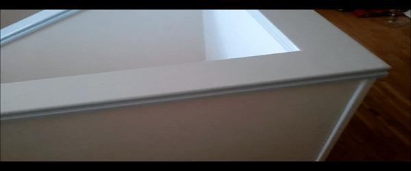 Lacado de Barandilla en Blanco