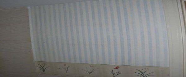 Papel pintado a rayas finas