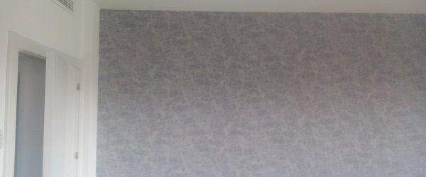 Papel Pintado Color Gris en Piso de Coslada