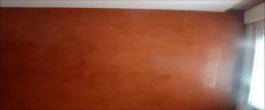 Estuco Color Naranja sin Cera