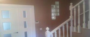Lacado de puertas y barandilla