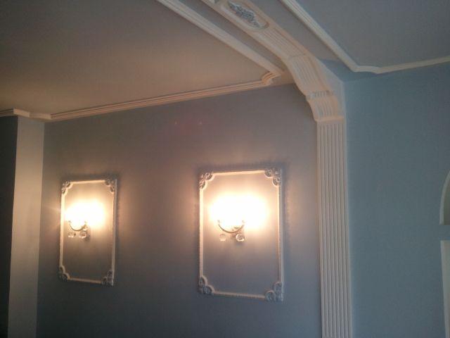 Arcos de escayola para pasillos finest aplique halgeno - Baldas de escayola ...