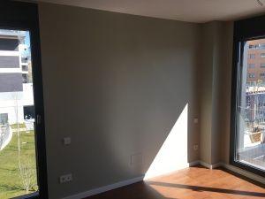 Esmalte Valacryl Color Verde Grisacio medio dormitorio