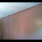 Esmalte al agua color Marron en Dormitorio de Coslada (1)