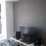 Esmalte al agua color gris en salon de Torrejon de Ardoz (3)