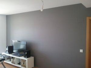 Esmalte al agua color gris en salon de Torrejon de Ardoz (6)
