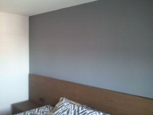 Esmalte al agua coor gris en habitacion de Guadalajara (2)