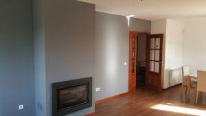 Esmalte al agua en color gris en salon de Talamanca del Jarama (6)