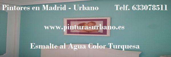 Banner Esmalte al Agua Color Turquesa