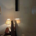 Estuco Veneciano Espatuleado con Veteado y Cera Kepi color Crema (1)