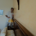 Estuco Veneciano Espatuleado con Veteado y Cera Kepi color Crema (13)