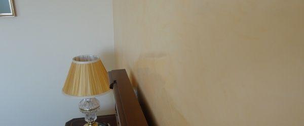 Estuco Veneciano Espatuleado con Veteado y Cera Kepi color Crema (14)