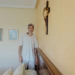 Estuco Veneciano Espatuleado con Veteado y Cera Kepi color Crema (15)