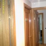 Esmalte color marron grisacio en pasillo de Vicalvaro 3