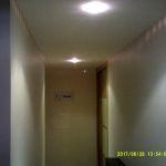 Esmalte color marron grisacio en pasillo de Vicalvaro 9