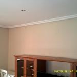 Esmalte color marron grisacio en salon de Vicalvaro 5