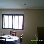 Esmalte color marron grisacio en salon de Vicalvaro 6
