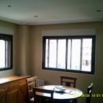 Esmalte color marron grisacio en salon de Vicalvaro 7