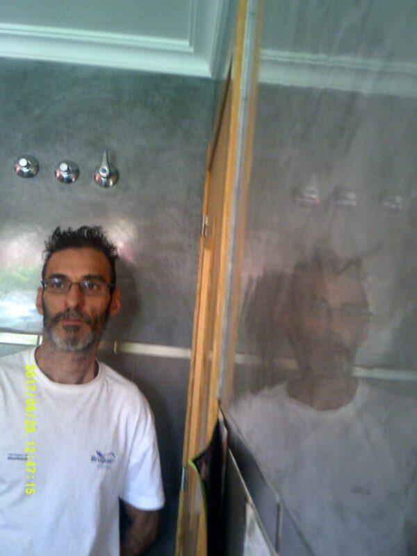 Pintores en Villalbilla – Aplicar Estuco Mitiko con Cera Gel – Moldura – Veloglas
