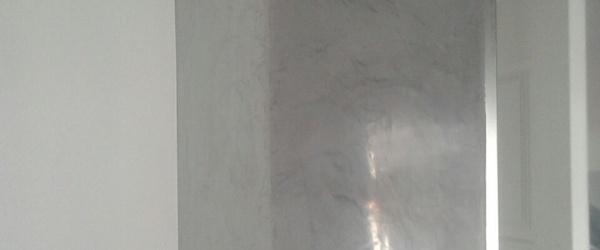 Estuco Veteado Color Gris en Salita de Estar (9)