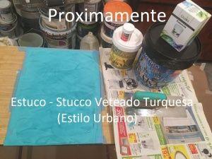 Muestra Estuco - Stucco Mitiko Veteado color Turquesa - copia