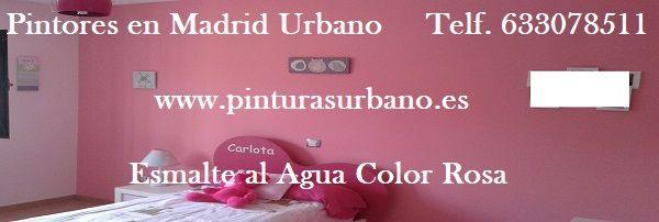 Banner Esmalte al agua color rosa