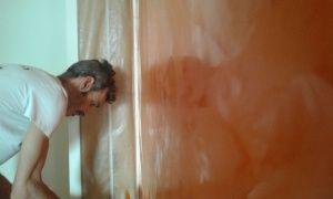 Estuco Veneciano Veteado Color Naranja (1)