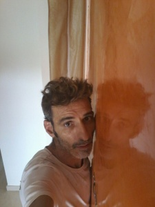 Estuco Veneciano Veteado Color Naranja (14)