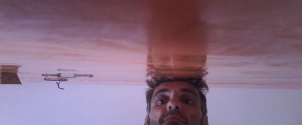 Estuco Veneciano Veteado Color Naranja (15)