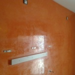 Estuco Veneciano Veteado Color Naranja (19)