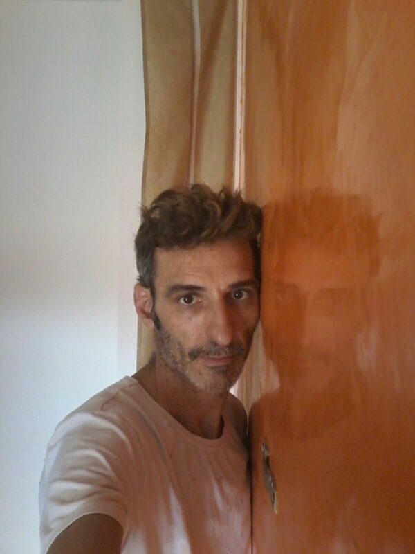 Video Estuco Mitiko Veneciano Espatuleado Veteado Naranja y Verde