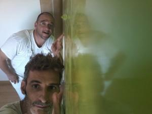 Estuco Veneciano Veteado color verde (25)