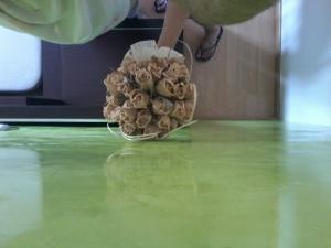 Estuco Veneciano Veteado color verde (8)