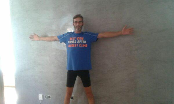 Video Estuco Mitiko Veneciano Espatuleado Veteado Gris y Turquesa