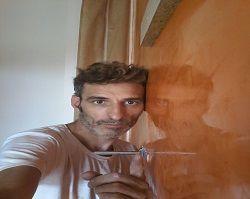 Icono Estuco Veneciano Veteado Color Naranja (13)