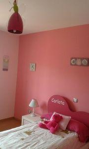 Plastico Color Rosa Claro y Esmalte Rosa Oscuro (5)