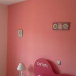 Plastico Color Rosa Claro y Esmalte Rosa Oscuro (6)
