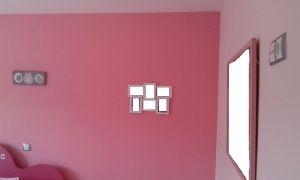 Plastico Color Rosa Claro y Esmalte Rosa Oscuro (9)