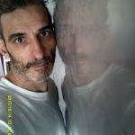 Reflejos sobre estuco veneciano gris 2